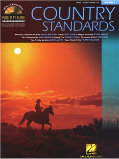 Piano Play-Along Volume 6: Country Standards Books and CDs   Piano, Vocal & Guitar