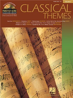 Piano Play-Along Volume 8: Classical Themes Books and CDs | Piano