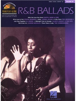 Piano Play-Along Volume 20: R&B Ballads Books and CDs   Piano, Vocal & Guitar