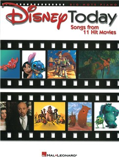 Disney Today - Songs From 11 Hit Movies Books | Piano