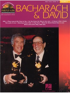 Piano Play-Along Volume 32: Bacharach And David Books and CDs   Piano, Vocal & Guitar (with Chord Boxes)