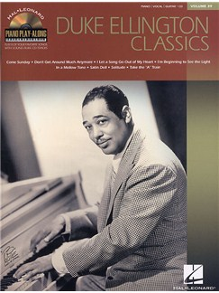 Piano Play Along Volume 39: Duke Ellington Classics Books | Piano, Vocal & Guitar