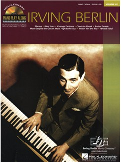 Piano Play-Along Volume 42: Irving Berlin Books and CDs | Piano, Vocal & Guitar