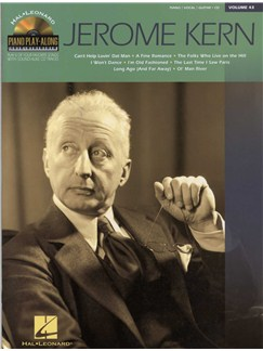 Piano Play Along Volume 43: Jerome Kern Books and CDs | Piano, Vocal & Guitar