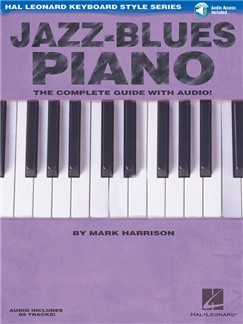 Jazz-Blues Piano (Book/Online Audio) Books and Digital Audio | Piano