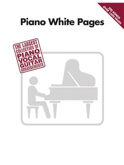 Piano White Pages Books | Piano, Vocal & Guitar