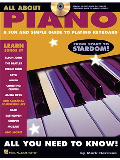 All About Piano Books and CDs | Piano