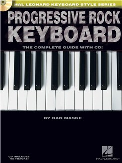 Progressive Rock Keyboard Books and CDs | Keyboard