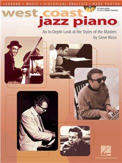 Gene Rizzo: West Coast Jazz Piano (Book and CD) Books and CDs | Piano