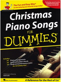 Christmas Piano Songs For Dummies Books | Piano, Vocal & Guitar