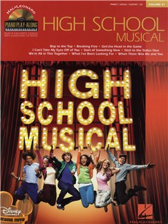 Piano Play-Along Volume 51: High School Musical Books and CDs | Piano, Vocal & Guitar