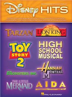 Disney Hits: Beginning Piano Solo Books | Piano
