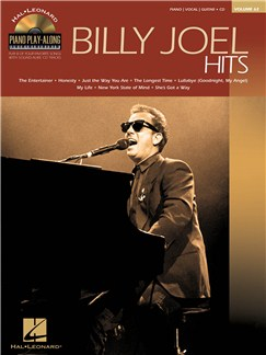 Piano Play-Along Volume 62: Billy Joel Hits Books and CDs | Piano, Vocal & Guitar