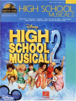 Piano Play-Along Volume 63: High School Musical 2 Books and CDs | Piano, Vocal & Guitar