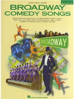 Broadway Comedy Songs - 2nd Edition Books | Piano, Vocal & Guitar