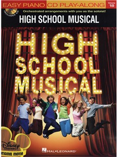 Easy Piano CD Play-Along: High School Musical Books and CDs | Piano