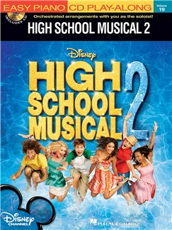 Easy Piano Play-Along Volume 19: High School Musical 2 - (Book and CD) Books and CDs   Piano