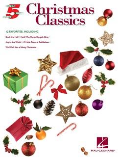 Christmas Classics: Five Finger Piano Songbook Books | Piano