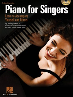 Jeffrey Deutsch: Piano For Singers - Learn To Accompany Yourself And Others Books and CDs | Piano