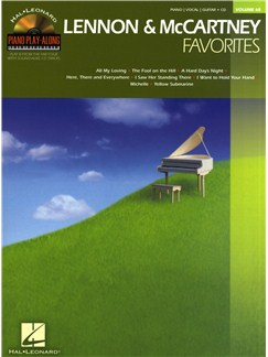 Piano Play Along Volume 68: Lennon And McCartney Favourites Books | Piano, Vocal & Guitar