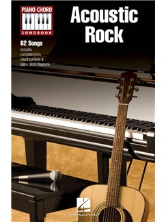 Piano Chord Songbook: Acoustic Rock Books | Lyrics & Piano Chords