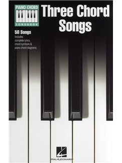 Piano Chord Songbook: Three Chord Songs Books | Lyrics & Piano Chords