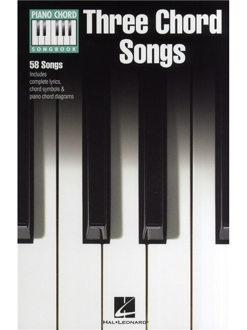 Piano Chord Songbook Three Chord Songs Lyrics Piano Chords