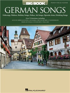 The Big Book Of German Songs Books | Piano, Vocal & Guitar