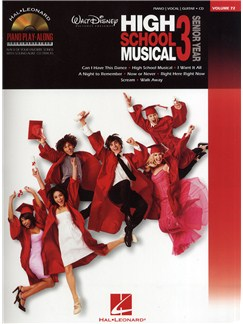 Piano Play-Along Volume 72: High School Musical 3 Books and CDs | Piano, Vocal & Guitar