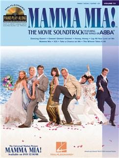 Piano Play-Along Volume 73: Mamma Mia! The Movie Soundtrack Books and Digital Audio | Piano