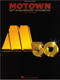 Motown 50th Anniversary Songbook Books | Piano, Vocal & Guitar
