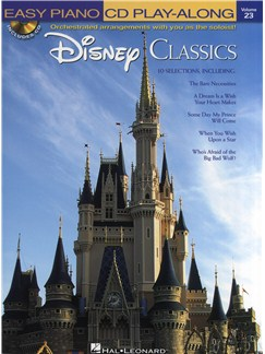Easy Piano CD Play-Along Volume 23: Disney Classics Books and CDs | Piano