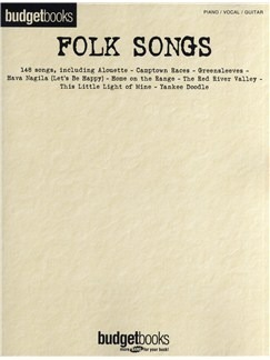 Budgetbooks - Folk Songs Livre | Piano, Chant et Guitare