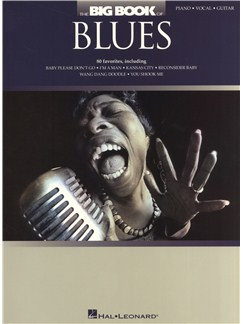 The Big Book Of Blues Books | Piano, Vocal & Guitar
