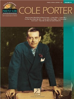 Piano Play-Along Volume 74: Cole Porter (Book/CD) Books and CDs | Piano
