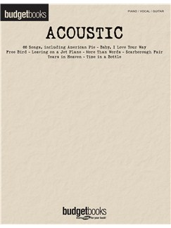 Budgetbooks: Acoustic Books | Piano, Vocal & Guitar