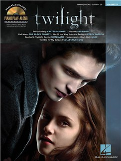 Piano Play-Along Volume 75: Twilight CD et Livre | Piano