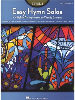 Easy Hymn Solos - Level 2 Books | Piano