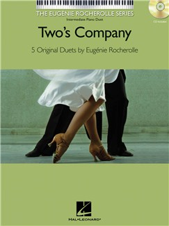 Eugénie Rocherolle: Two's Company - Five Original Duets (Book/CD) Books and CDs | Piano Duet