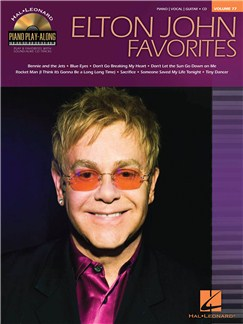 Piano Play-Along Volume 77: Elton John Favorites Books and CDs | Piano, Vocal & Guitar