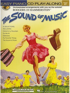 Easy Piano CD Play-Along Volume 27: The Sound Of Music (Book/Online Audio) Books and Digital Audio | Piano