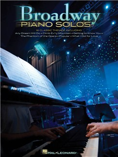 Broadway Piano Solos Books | Piano