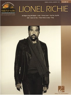 Piano Play-Along Volume 82: Lionel Richie Books and CDs | Piano, Vocal & Guitar