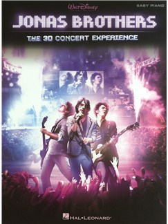 Jonas Brothers: 3D Concert Experience For Easy Piano Books | Piano