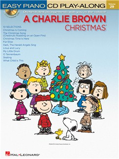 Easy Piano CD Play-Along Volume 29: A Charlie Brown Christmas Books and CDs | Piano