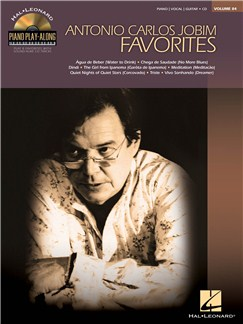 Piano Play-Along Volume 84: Antonio Carlos Jobim Books and CDs | Piano, Vocal & Guitar