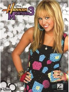 Hannah Montana 3 - Easy Piano Books   Piano