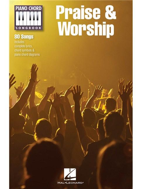 Piano Chord Songbook: Praise & Worship - Lyrics & Piano Chords Sheet ...