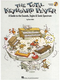 Dave Adler: The Total Keyboard Player Books and CDs | Keyboard