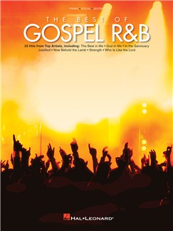 The Best of Gospel R&B Books | Piano, Vocal & Guitar